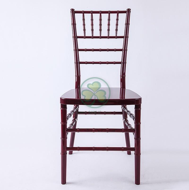 Resin chiavari Chair 0287
