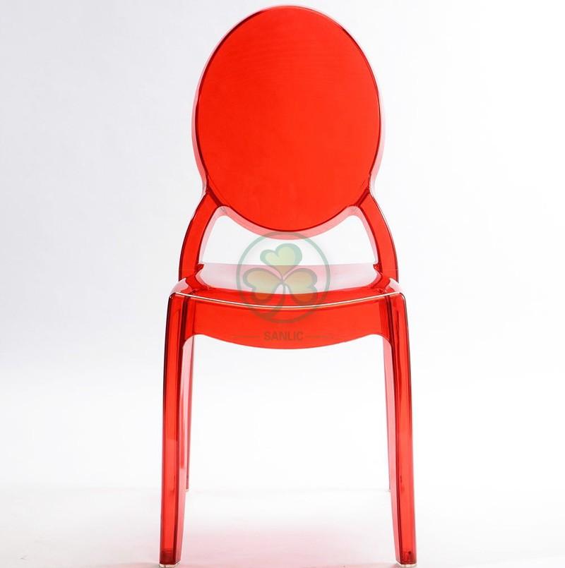 Sophia Ghost Armless Chair 035