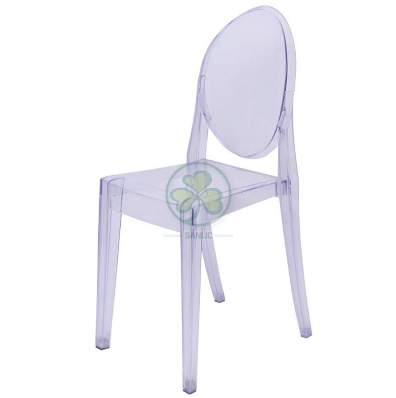 Victoria Ghost Armless Chair 039