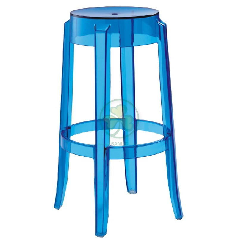 Charles Ghost Stool L 001