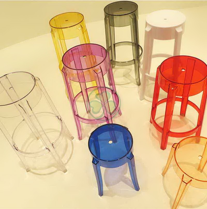 Charles Ghost Stool S 015