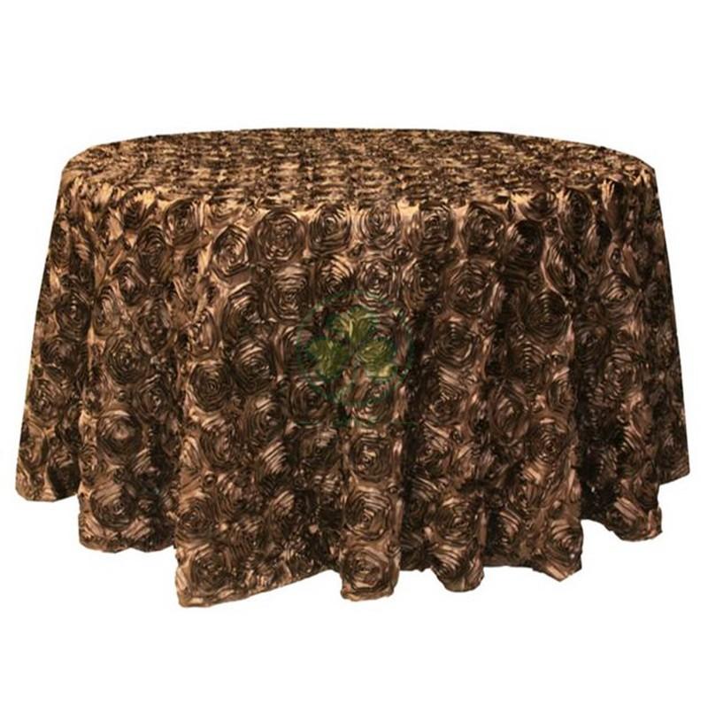 Satin Rosette Table Cloth 032