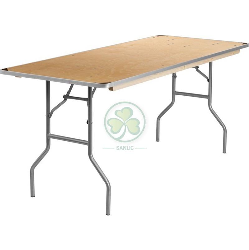 Rectangular Folding Table 034