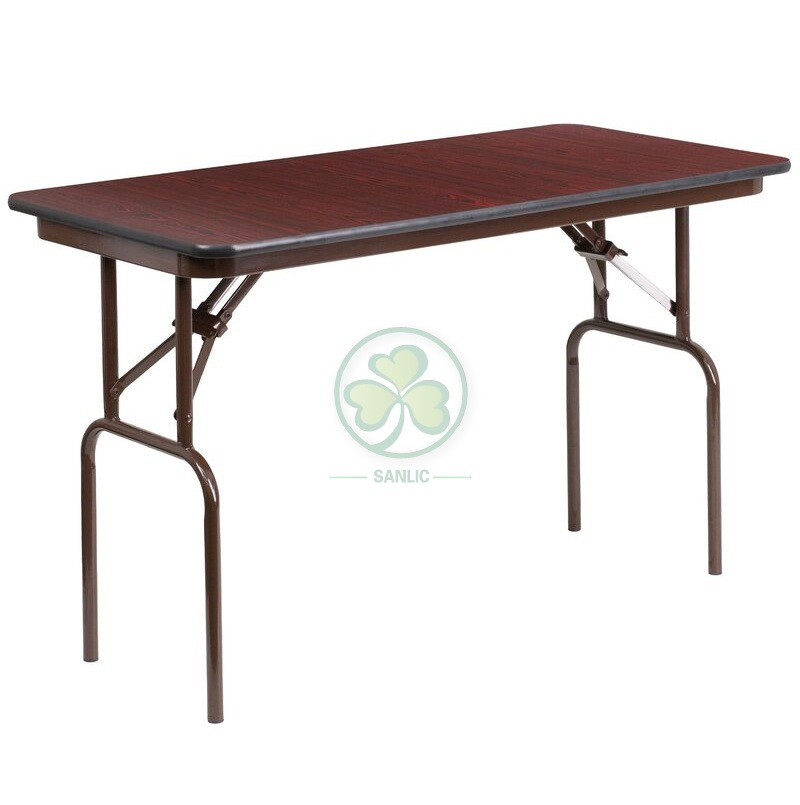 Melamine Laminate Folding Banquet Table 037