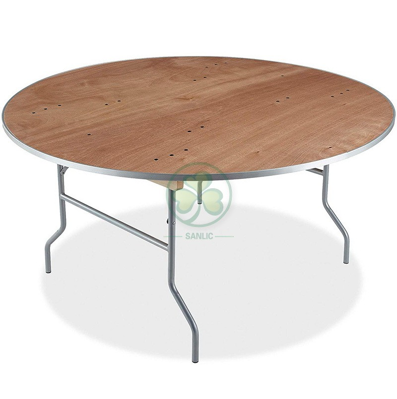 Round Folding Table  034