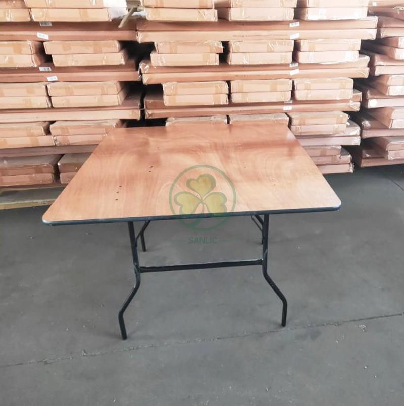 Square Folding Table 005