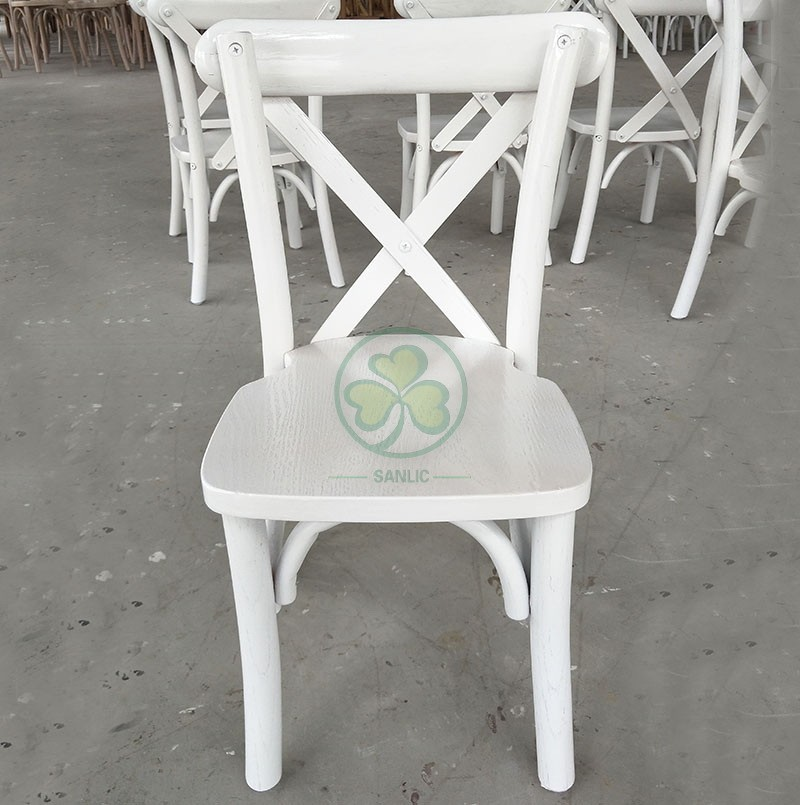Wooden Kids Cross Back Chair A 046