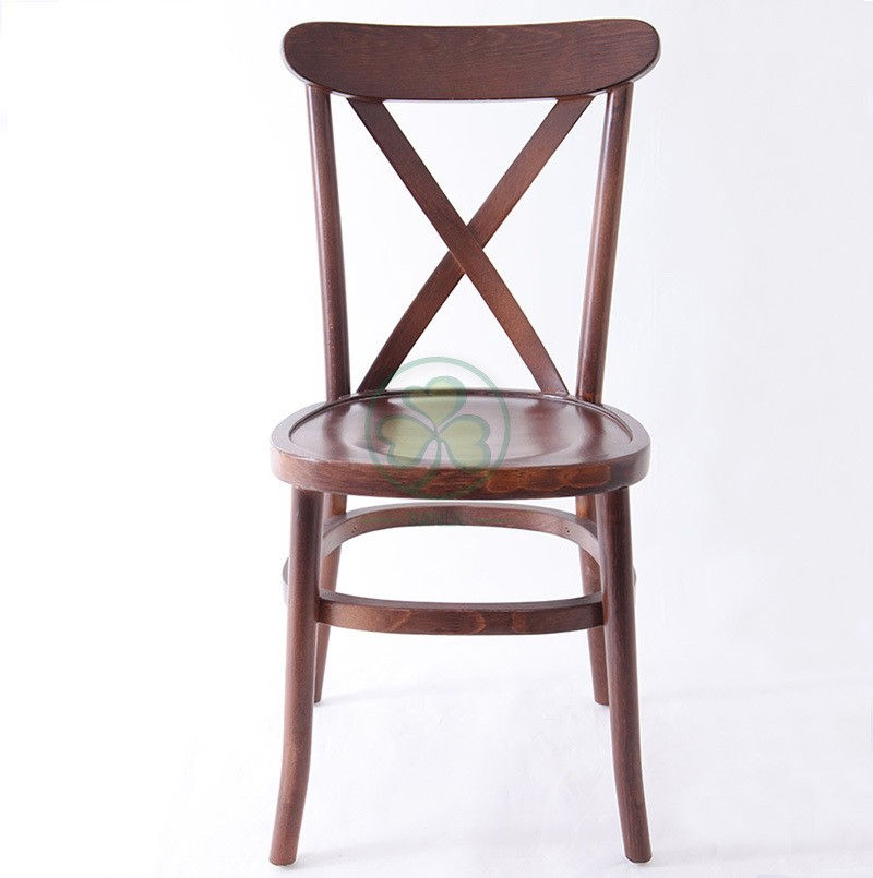 Wooden Tuscan Crossback Chair 002