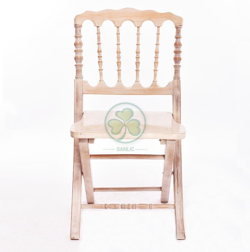 Wooden Folding Napoleon Chair 025
