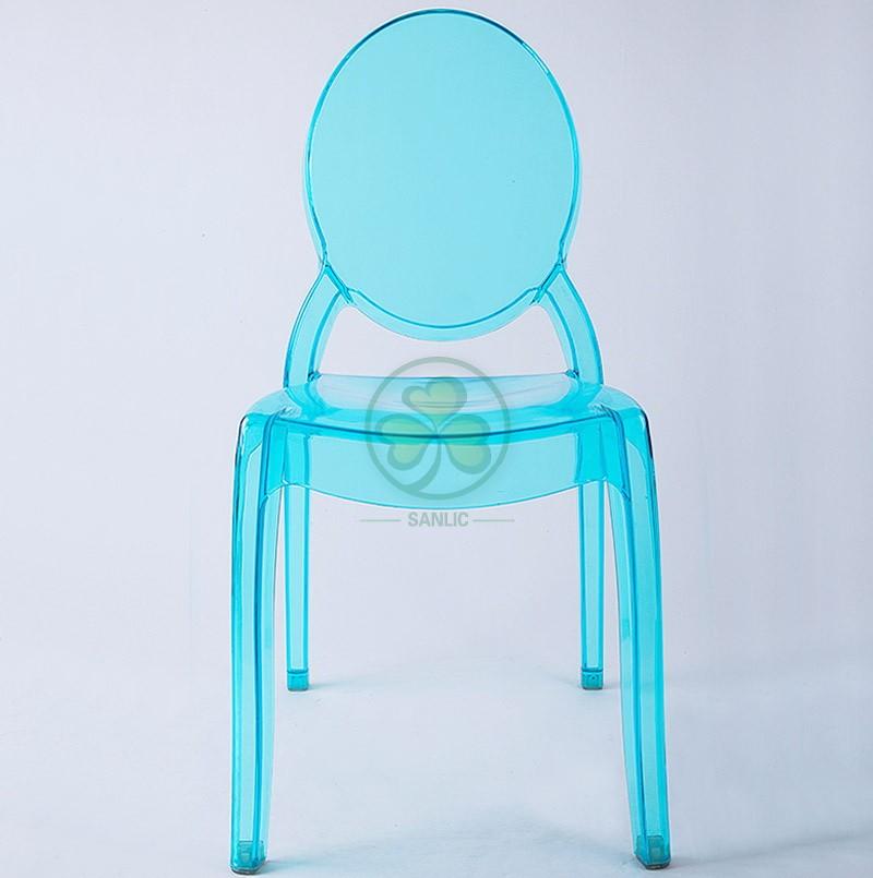 Sohpia Ghost Armless Chair 036