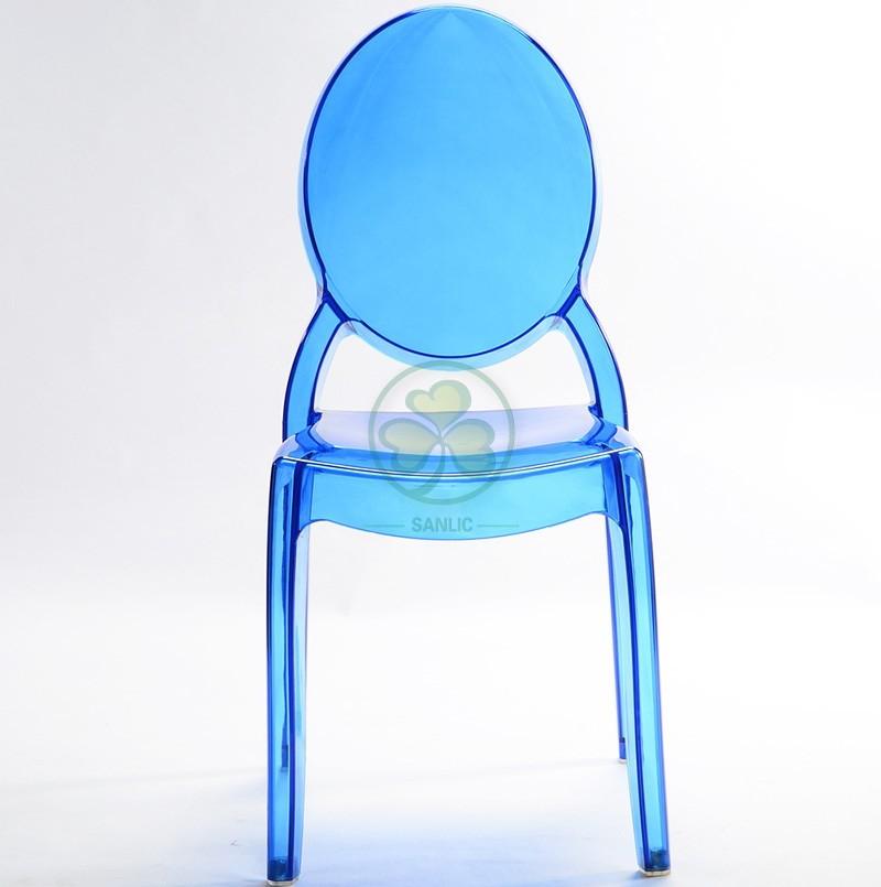Sophia Ghost Armless Chair 037