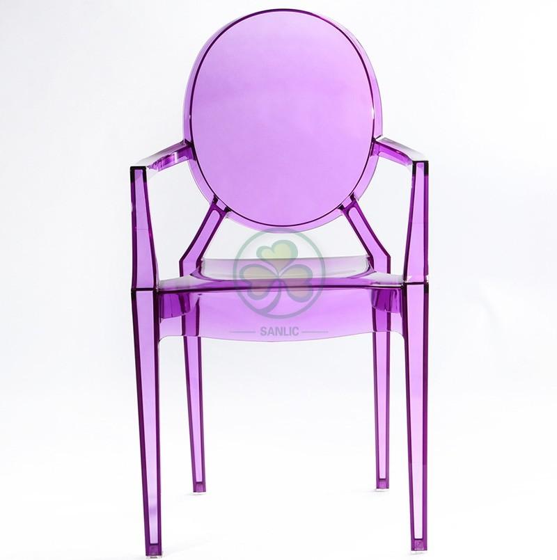 Victoria Ghost Armless Chair 003