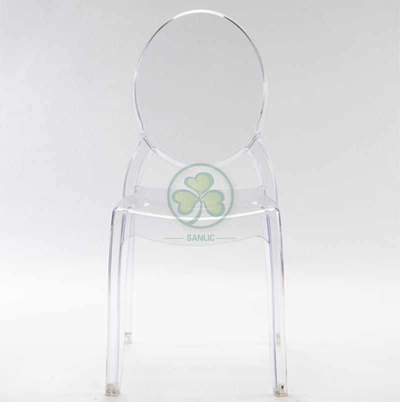 Sophia Ghost Armless Chair 038