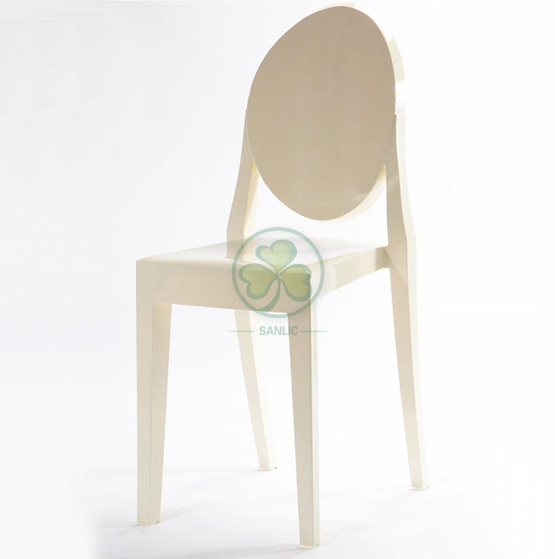 Victoria Ghost Armless Chair 040