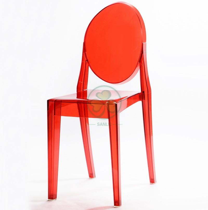 Victoria Ghost Armless Chair 041