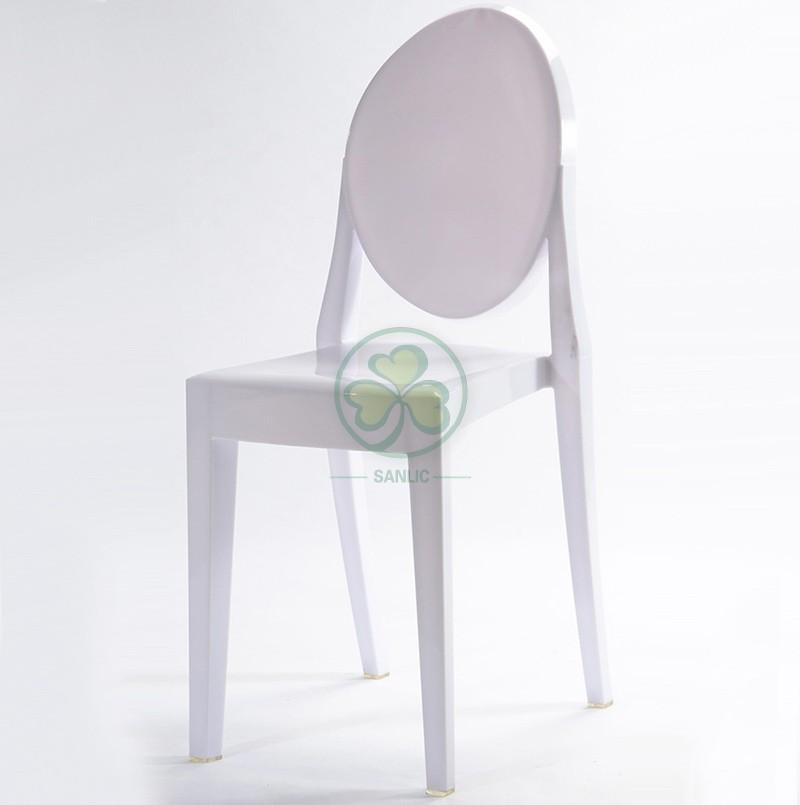 Victoria Ghost Armless Chair 044