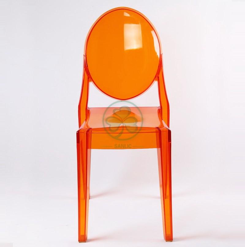 Victoria Ghost Armless Chair 045