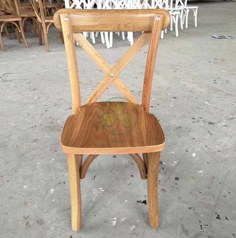 Wooden Kids X Back Chair A 044